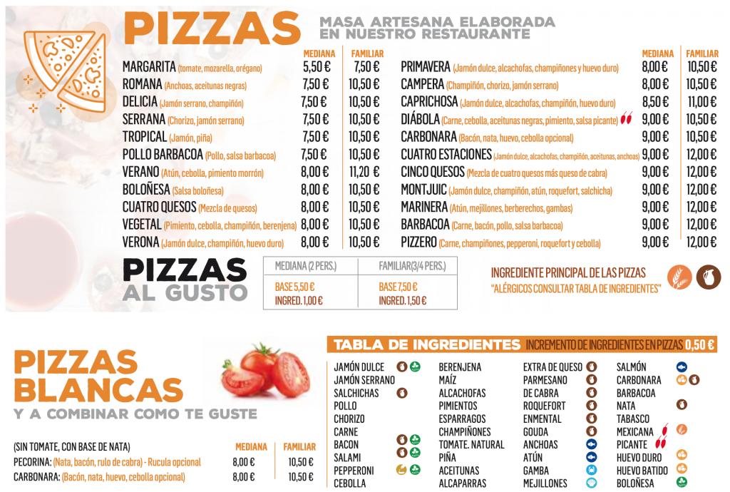 pizzas a domicilio en San Fernando